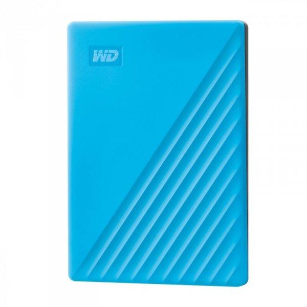 Western Digital My Passport zewnętrzny dysk twarde 4000 GB Niebieski