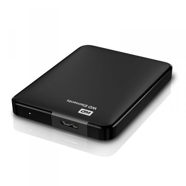 Western Digital WD Elements Portable zewnętrzny dysk twarde 2000 GB Czarny
