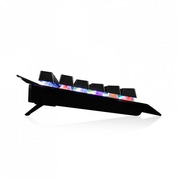 Modecom VOLCANO HAMMER RGB klawiatura USB QWERTY  Czarny