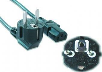 Gembird PC-186-VDE kabel zasilające Czarny 1,8 m