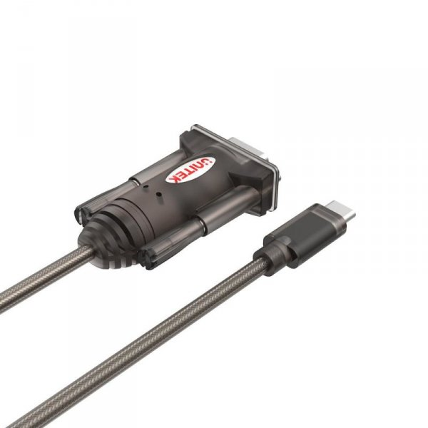 UNITEK ADAPTER USB-C - 1X RS-232, Y-1105K
