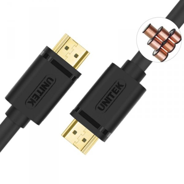 UNITEK KABEL HDMI BASIC V1.4 GOLD 5M, Y-C140