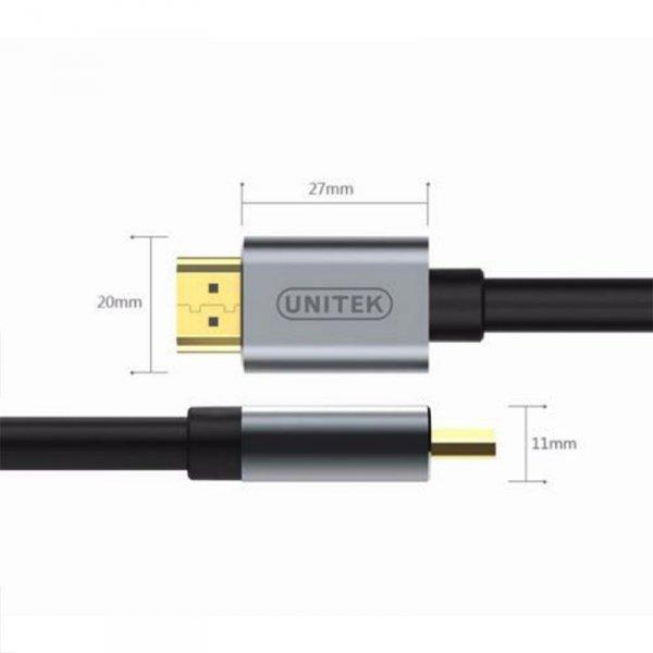 UNITEK KABEL HDMI PREMIUM HDMI 2.0 5M, Y-C140LGY