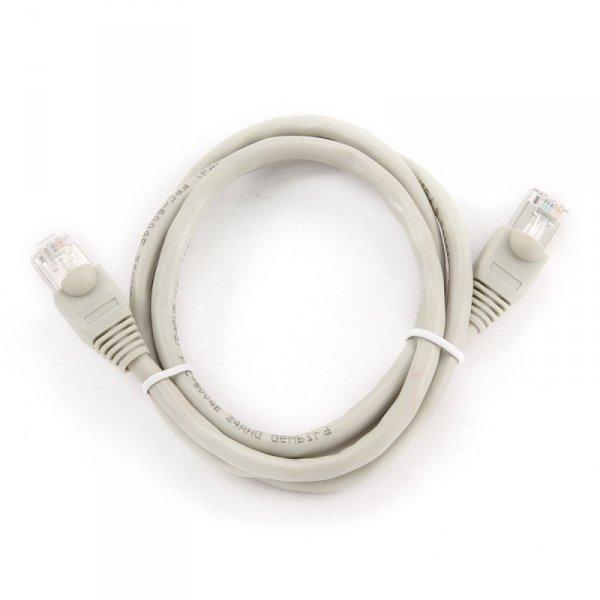 Kabel UTP GEMBIRD PP6U-1M (RJ45 - RJ45 ; 1m; UTP; kat. 6; kolor szary)