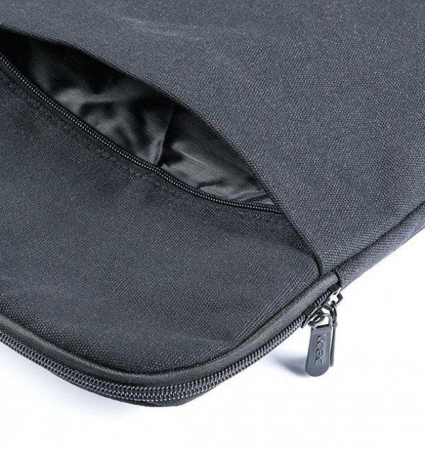 Torba do laptopa LOGIC FUT-LC-PLUSH-15-BLA (kolor czarny)