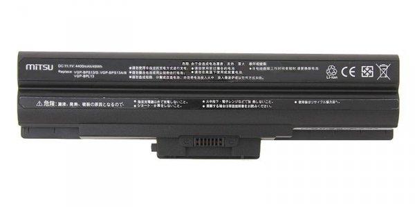Bateria do laptopa MITSU BC/SO-BPS13B (49 Wh; do laptopów Sony)