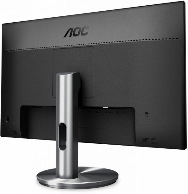 "Monitor AOC I2490VXQ/BT (23,8""; IPS/PLS; FullHD 1920x1080; DisplayPort, HDMI, VGA; kolor czarno-srebrny)"