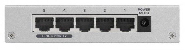 Switch ZyXEL ES-105AV3-EU0101F (5x 10/100Mbps)