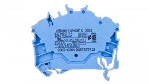 Złączka szynowa 3-przewodowa 2,5mm2 niebieska 2002-6304 TOPJOBS
