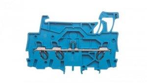 Złączka szynowa 3-przewodowa 1,0mm2 niebieska TOPJOBS 2000-1304