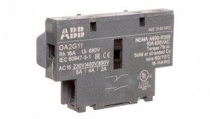 Styk pomocniczy 1Z 1R do rozłączników OT16-125F OA2G11 1SCA022379R8100