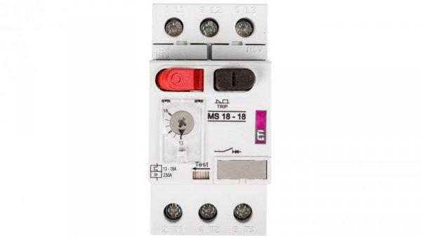 Wyłącznik silnikowy 3P 7,5kW 13-18A MS18 004600351