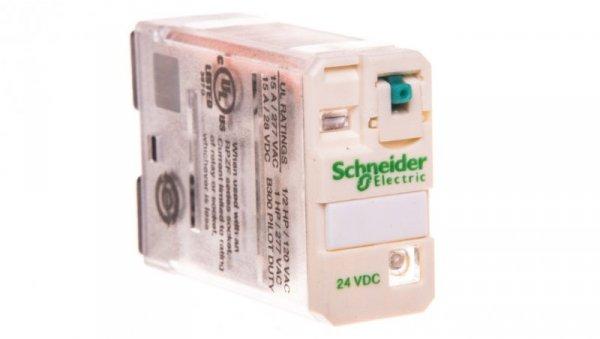 Przekaźnik miniaturowy 1P 15A 24V DC AgNi RPM12BD