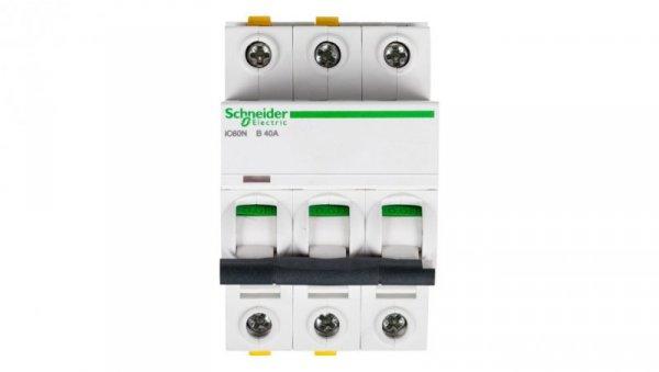 Wyłącznik nadprądowy 3P B 40A 6kA AC iC60N-B40-3 A9F03340