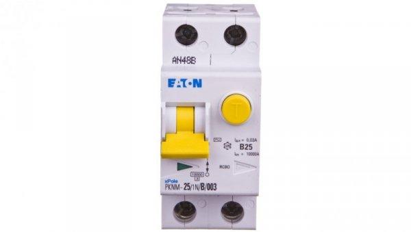 Wyłącznik różnicowo-nadprądowy 2P 25A B 0,03A typ AC PKNM 25/1N/B/0,03 236265