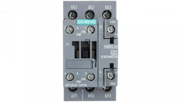 Stycznik mocy 12A 3P 230V AC 1Z 1R S0 3RT2024-1AP00