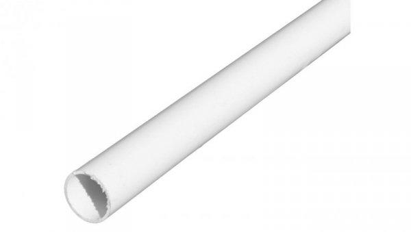 Rura elektroinstalacyjna sztywna gładka RL 22 biała 68375 /20 x 2m/