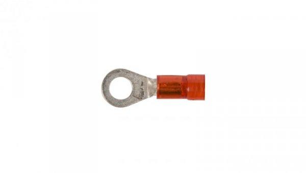 Końcówka oczkowa izolowana KOI 1/4 PC E09KO-02010200400 (100szt.)