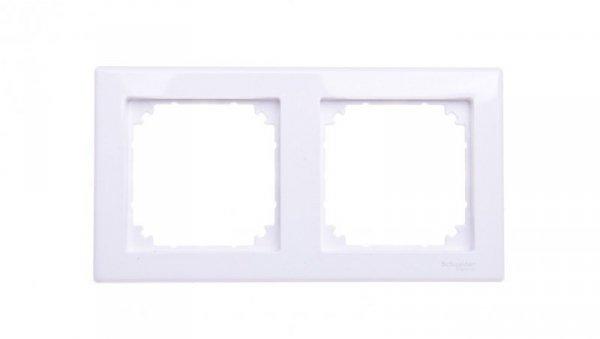 Merten M-Smart Ramka podwójna biała MTN478225