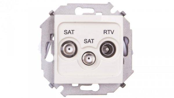 Simon 15 Gniazdo antenowe RTV/SAT/SAT końcowe beżowe 1591038-031