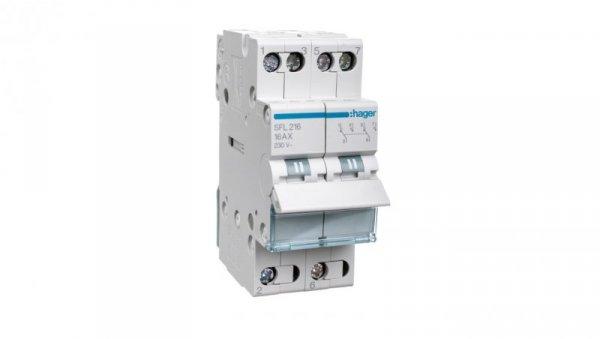 Przełącznik modułowy 1-2 16A 1P SFL216