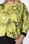 bluza ze ściągaczem u dołu