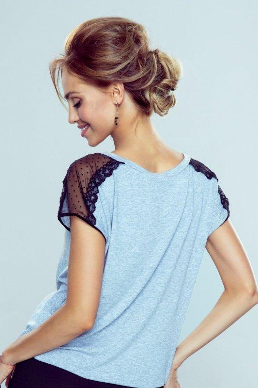 Bluzka Model Dagna New Melange Light Grey - Eldar