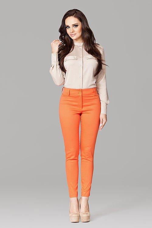 Spodnie Damskie Model 109 Orange - Figl