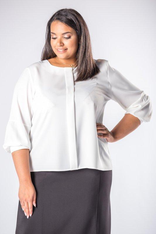bluzka o koszulowym kroju