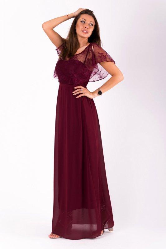 Sukienka Model 18062 Oberżyna - YourNewStyle