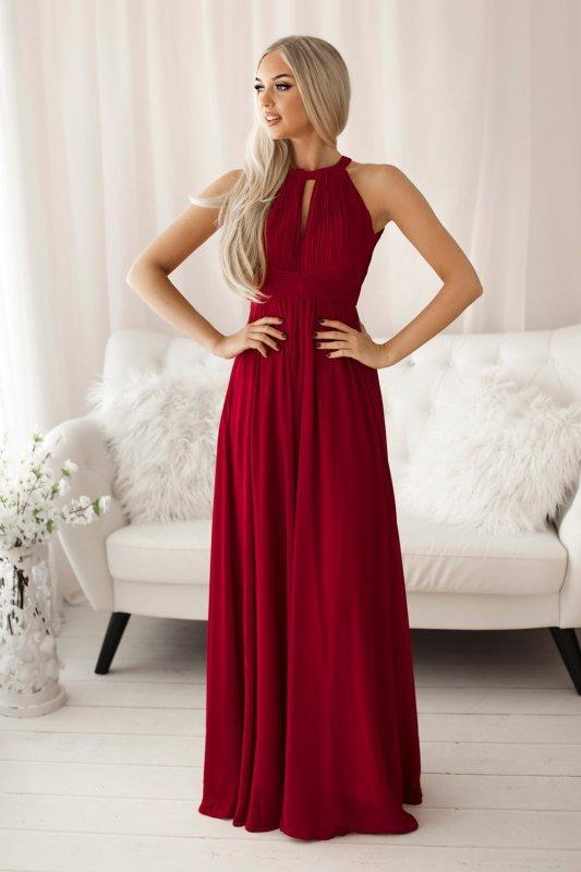 Sukienka Model 18667 Wiśnia - YourNewStyle