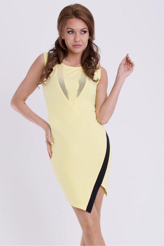 Sukienka Model 17076 Cytryna - YourNewStyle