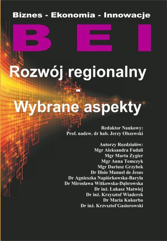 Rozwój regionalny - Wybrane aspekty