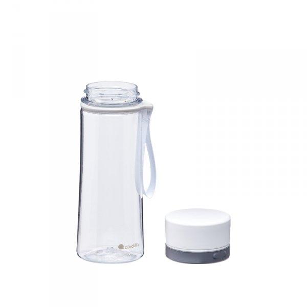 Butelka na wodę AVEO - biała - 0,35L / Aladdin