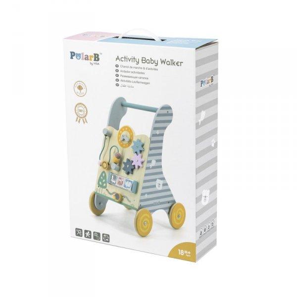 Drewniany Pchacz Edukacyjny dla dzieci - Viga Toys