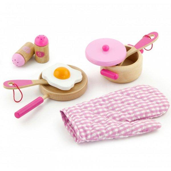 Drewniany Kuchenny Zestaw do gotowania - Viga Toys