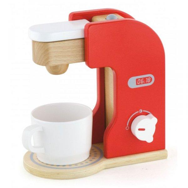 Drewniany Ekspress Do Kawy Coffee Maker Kubek Kapsułka - Viga Toys
