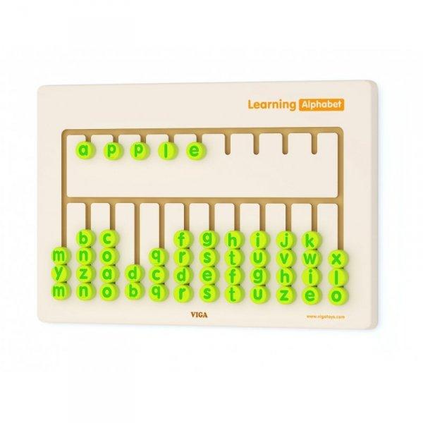 Tablica Sensoryczna Nauka Alfabetu - Viga Toys