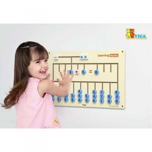 Tablica Sensoryczna do nauki liczenia - VIGA Toys