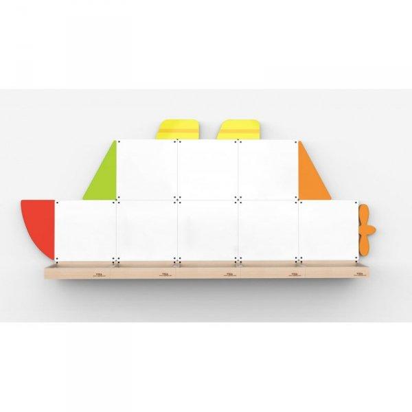 Tablica magnetyczna - Statek - VIGA Toys