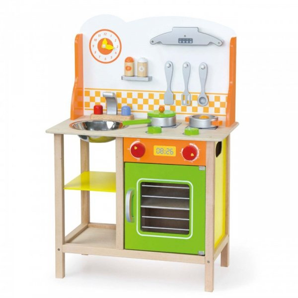 Kuchnia Drewniana dla dzieci Fantastic Z Akcesoriami - Viga Toys