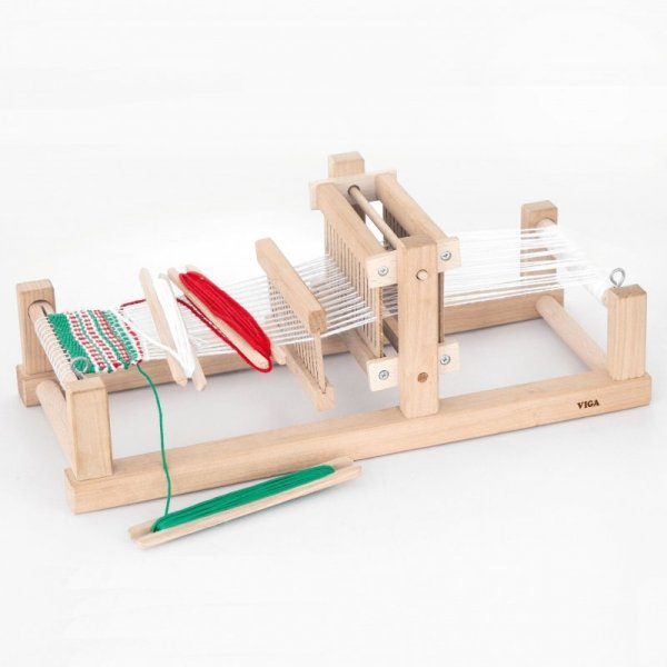 Krosno Tkackie - Drewniany zestaw do tkania - Viga Toys