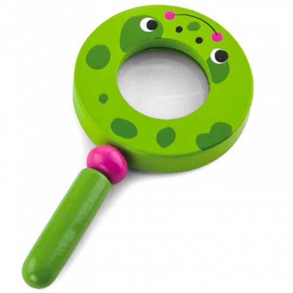 Drewniana Lupa Dla Dzieci Żabka - Viga Toys