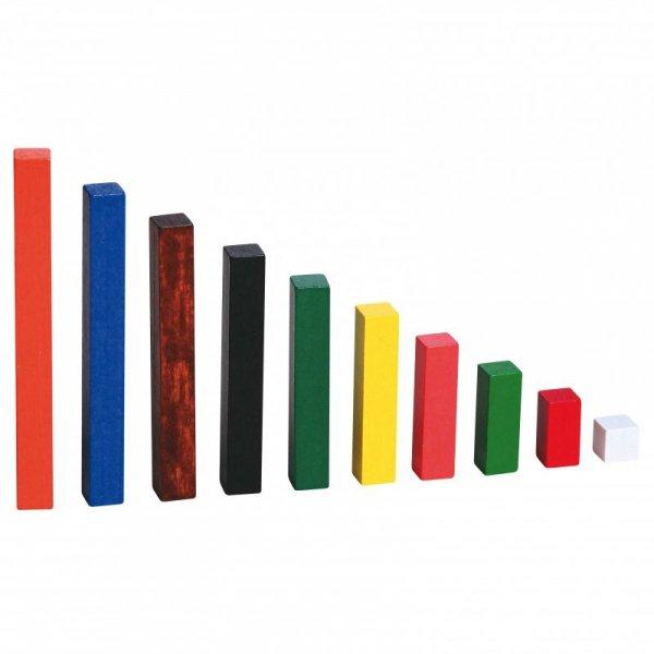 Drewniane Patyczki Edukacyjne - Matematyczne - do Nauki Liczenia - Viga Toys