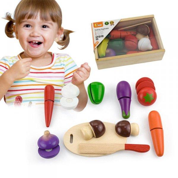 Zestaw Do Krojenia - Warzywa - Viga Toys