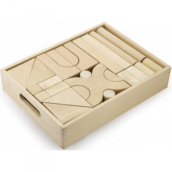 Drewniane klocki 48 elementy - Viga Toys