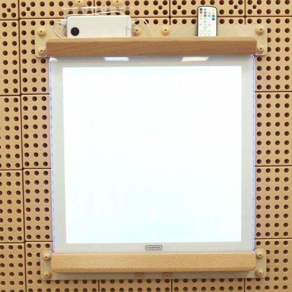 MASTERKIDZ Kwadratowa Ramka do Montażu Panelu LED