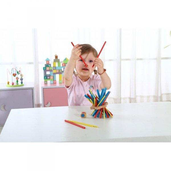 Gra Zręcznościowa Bierki - Zwariowane Patyczki - TOOKY TOY
