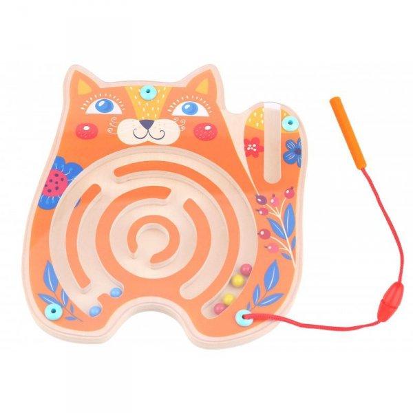 Tablica Zręcznościowa Labirynt Magnetyczny Kot - TOOKY TOY