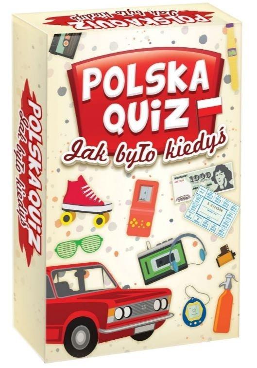 Gra rodzinna Polska - jak było kiedyś: quiz